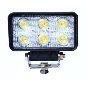 LED arbeidslys med 6x LED